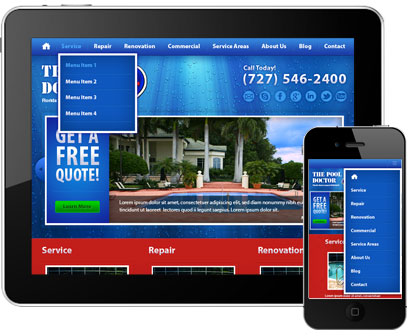 Leverage Digital Launches Newly Redesigned Website for The Pool Doctor Featured Image