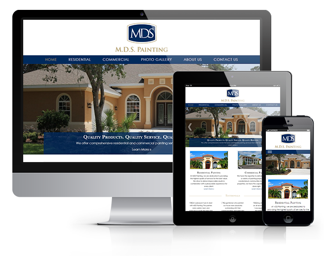 Leverage Digital Launches MDS Painting Website Redesign Featured Image