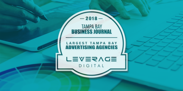 Leverage Digital Ranks as One of Tampa Bay's Largest Advertising Agencies Featured Image