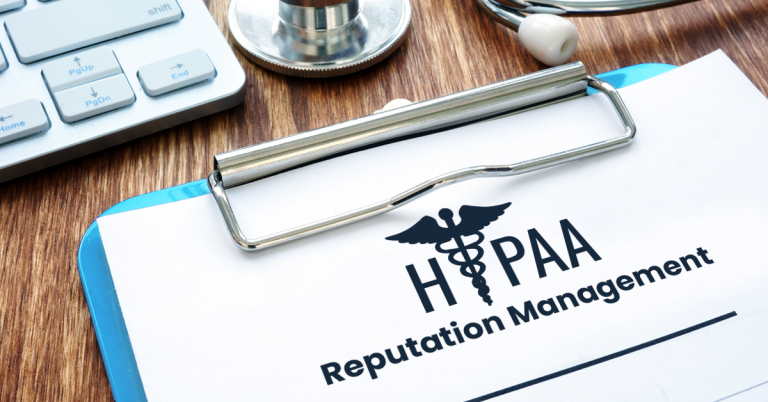 Managing Your Reviews and Reputation While Remaining HIPAA Compliant Featured Image